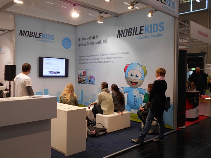 Mobilekids Messestand